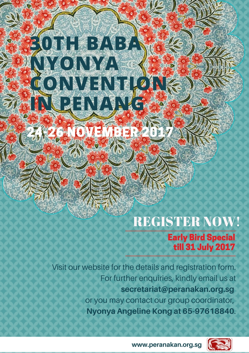 The 30th Baba Nyonya Convention